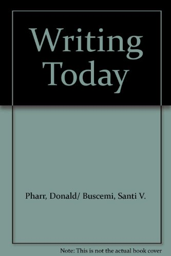 9780073603322: Thematic Readings: Writing Today
