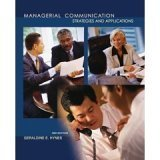 9780073603353: Managerial Communication: Strategies and Applications