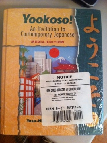 9780073643472: Yookoso! An Invitation to Contemporary Japanese Media Edition GEN COMBO W/ CDROM, WB (1)
