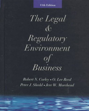 9780073654294: The Legal & Regulatory Environment of Business