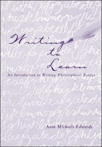 9780073655048: Writing to Learn: An Introduction to Writing Philosophical Essays