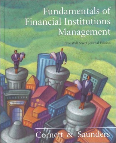 9780073655116: Fundamentals of Financial Institutions Management