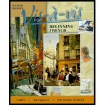 9780073655123: Vis a Vis: Beginning French Edition
