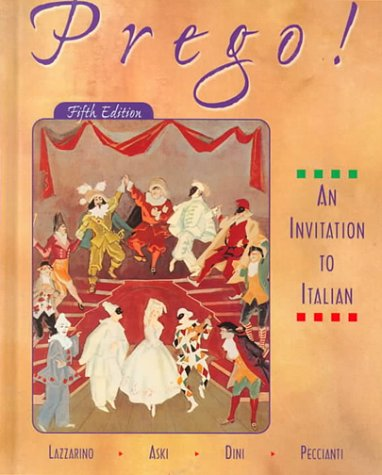 9780073655130: Prego: An Invitation to Italian