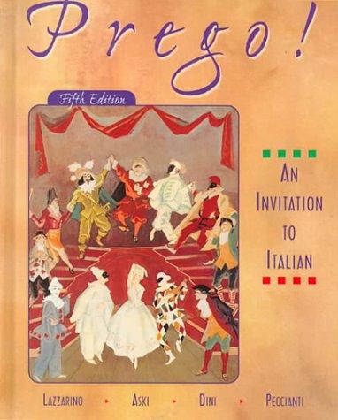 9780073655130: Prego: An Invitation to Italian