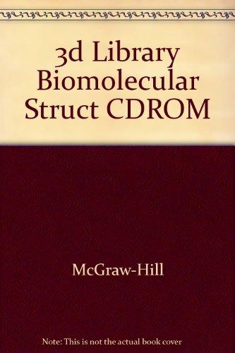 9780073655321: 3d Library Biomolecular Struct CDROM