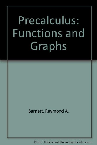 9780073655819: Precalculus: Functions and Graphs