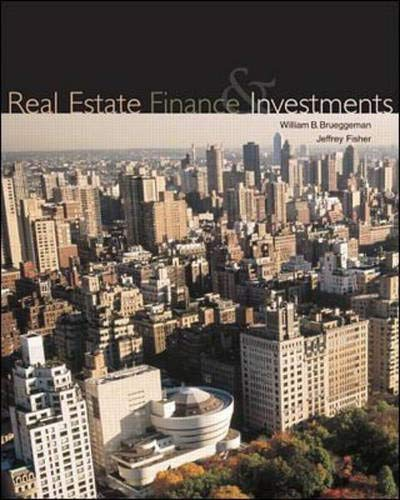 Real Estate Finance and Investments: Jeffrey D. Fisher;