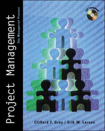 9780073658124: Project Management (Irwin/McGraw Hill Series, Operations and Decision Sciences)
