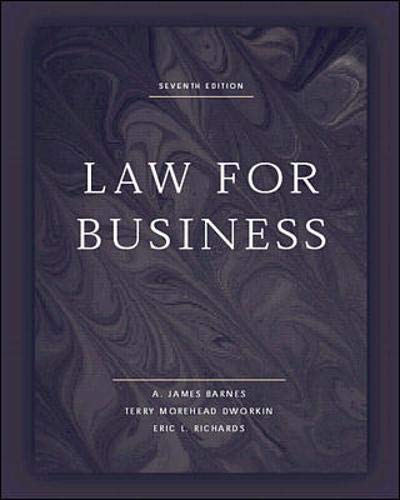 9780073659176: Law for Business - Not Available Individually - Use428600