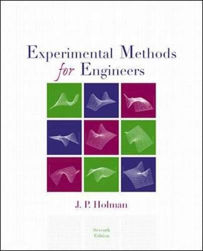 Experimental Methods for Engineers (McGraw-Hill Mechanical Engineering): Jack P. Holman