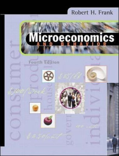 9780073660837: Microeconomics and Behavior