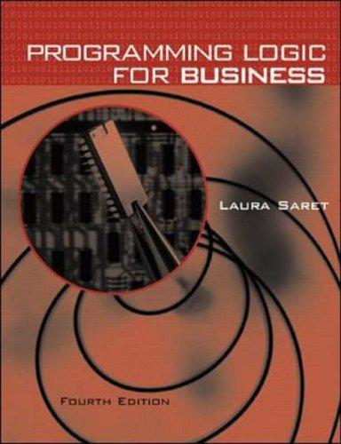 9780073660967: Programming Logic for Business