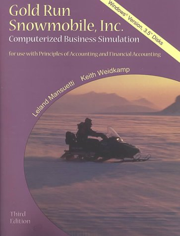 9780073660981: Gold Run Snowmobile, Inc. for Windows