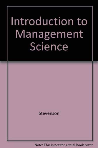 9780073661100: Introduction to Management Science