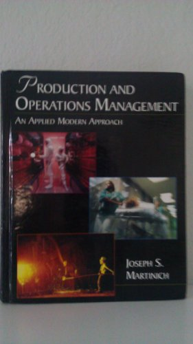 9780073661131: Title: ProductionOperations Management