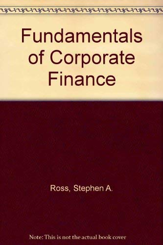 9780073661285: Fundamentals of Corporate Finance
