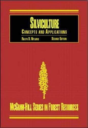 9780073661902: Silviculture: Concepts and Applications (Mcgraw-Hill Series in Forest Resources)