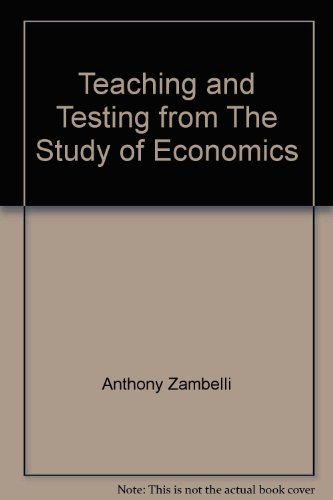 9780073662435: Teaching and Testing from The Study of Economics