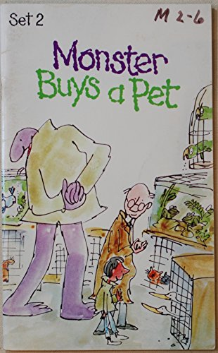 Monster Buys a Pet (0073725897) by Ellen Blance; Ann Cook