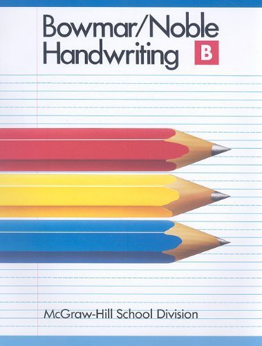 9780073757629: Bowmar/Noble Handwriting Book B