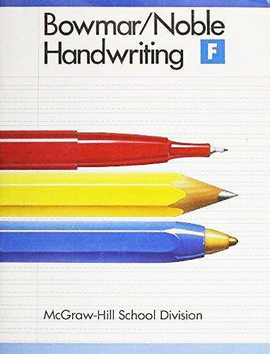 9780073757667: Handwriting: Book F