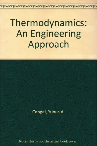 9780073963259: Thermodynamics: An Engineering Approach