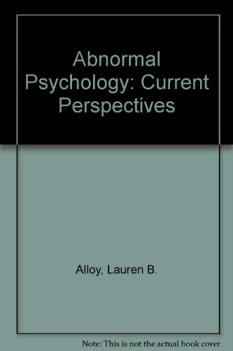 9780073988696: Abnormal Psychology: Current Perspectives