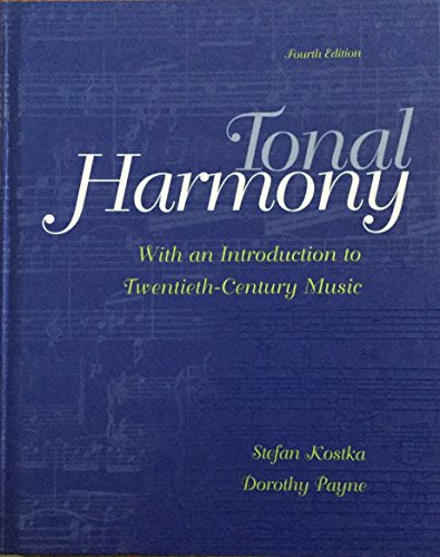 9780074010679: Tonal Harmony: With an Introduction to Twentieth-Century Music