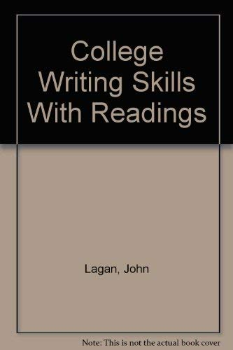 9780074011508: College Writing Skills With Readings