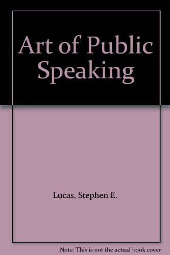 9780074071168: Art of Public Speaking