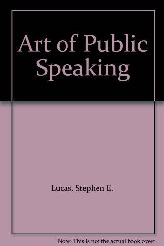 9780074071168: Art of Public Speaking