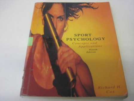 9780074092774: Sport Psychology: Concepts and Applications