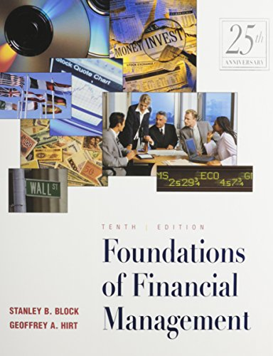9780074141014: Foundations of Financial Management