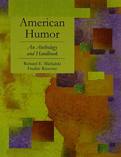 9780074312889: American Humor: An Anthology and Handbook