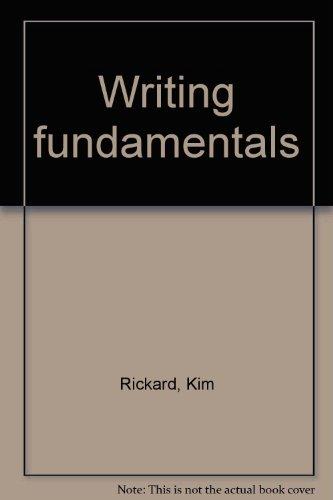 9780074423196: Writing fundamentals