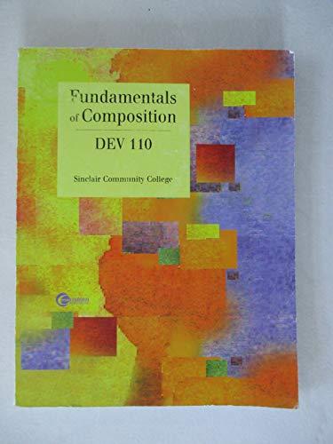 9780074464304: Fundamentals of Composition Dev 110, Sinclair Community College (The Primis Langan Series)