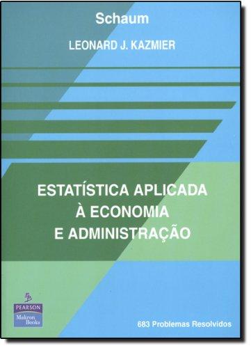 9780074502396: Estatistica Aplicada A Economia E Administracao (Em Portuguese do Brasil)