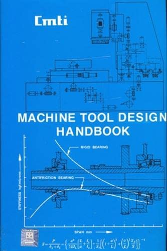 Machine Tool Design Handbook: CMTI