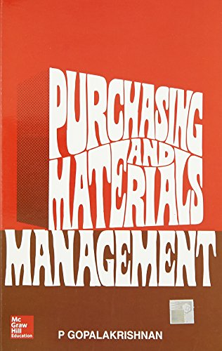 9780074516508: Purchasing and Materials Management
