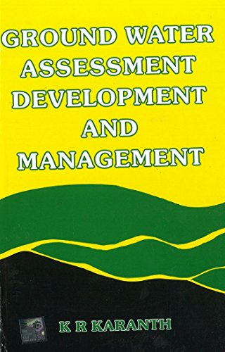 9780074517123: Ground Water Assessment, Development and Management