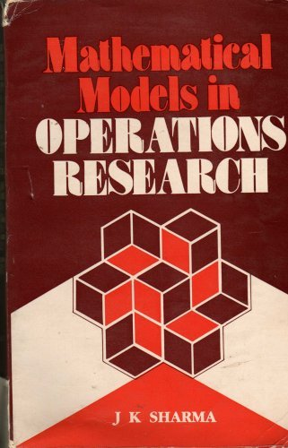 9780074517529: Mathematical Models in Operations Research