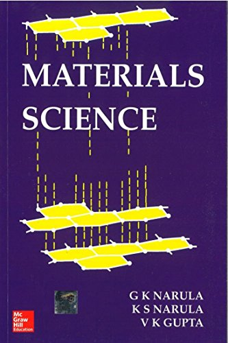 9780074517963: MATERIALS SCIENCE