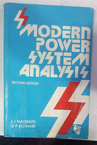 9780074517994: Modern Power System Analysis