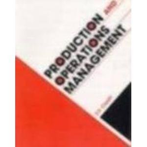 9780074518892: Production and Operations Management