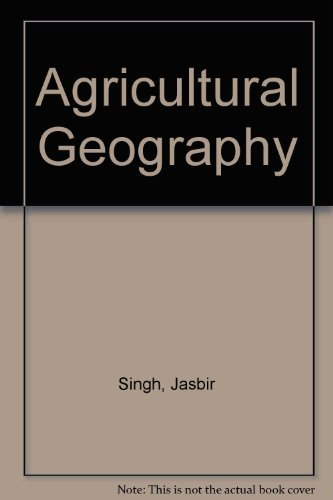 9780074519158: Agricultural Geography