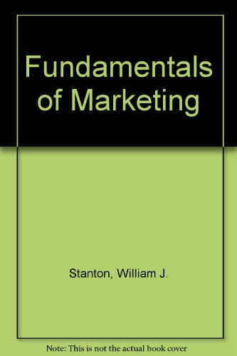 9780074520239: Fundamentals of Marketing