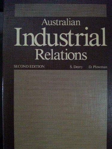 9780074520680: Australian Industrial Relations
