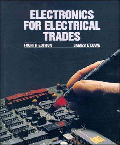 9780074526088: Electronics for Electrical Trades