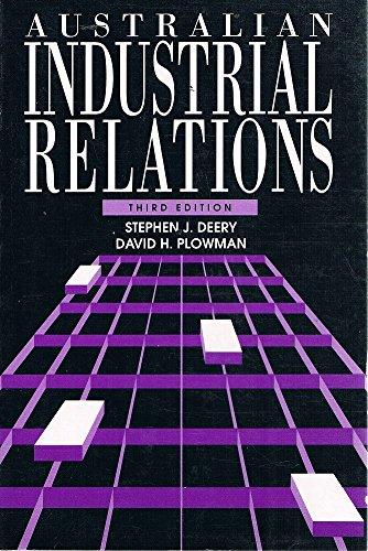 9780074526880: Australian Industrial Relations: Textbook